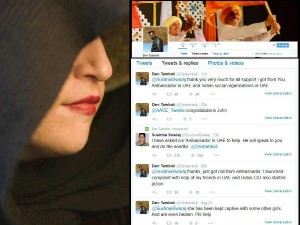 Indian Girl Hostage Uae Rescued No Fir Only Twitter Helped