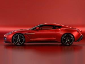 Aston Martin Vanquish Zagato Concept Breaks Cover
