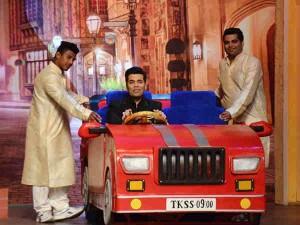 Filmmaker Karan Johar Ties Knot At Kapil Sharma Show