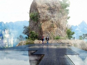 China Build Invisible Bridge After Glass Bridge