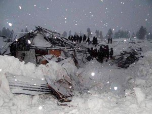 Avalanche Kills At Least 100 People Afghanistan Three Days