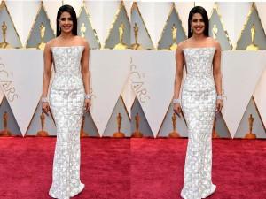 Priyanka Chopra At Oscars 2017 Red Carpet Lookbook