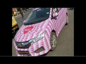 Lover Decorates Car With Rs 2000 Notes For His Girlfriend On Valentines Day