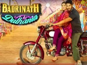 Badrinath Ki Dulhania Film Review