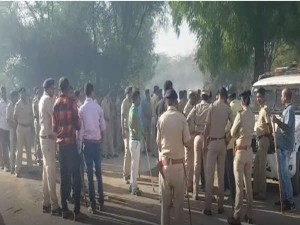 Patan After Small Fight Between Two Groups Riot Like Situation Occurred