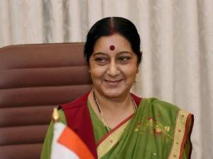 Sushma Swaraj Comes A Rescue An Indian Woman