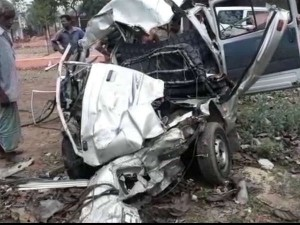 West Bengal Bardhman Road Accident 7 Died