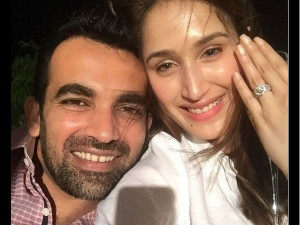 Zaheer Khan Got Engaged To Sagarika Ghatge