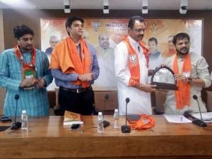 National Bjp Youth President Mp Abhishek Singh Visited Gujarat