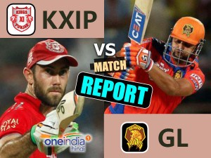 Ipl 10 Match 26 Live Gujarat Lions Vs Kings Xi Punjab