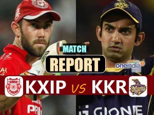 Ipl 2017 Kings Eleven Punjab Vs Kolkata Knight Riders Live Match Report