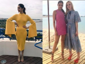 Deepika Padukone Looks Bright As Sunshine As She Starts Day 2 In Cannes 2017