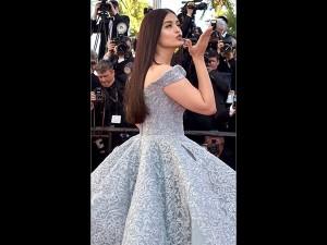Aishwarya Her Goddess Avatar Walks The Cannes Red Carpet