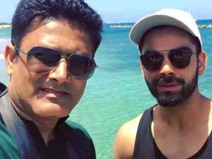 Anil Kumble Virat Kohli Stopped Talking After December 2016