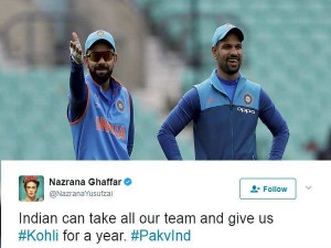 Indian Fans Troll Pakistani Journalist After She Tweeted About Indian Skipper Virat Kohli