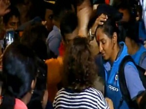 Women S World Cup 2017 Indian Women Team S Grand Welcome At