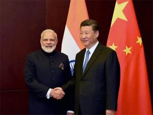 Modi Xi Shake Hands Hamburg Amid Tensions At Border