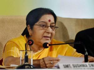Sushma Swaraj Replies A Tweet On Fire Incident Saudi Arab 10 Indian Died