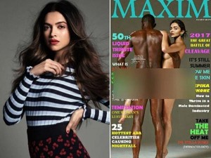 Did Deepika Padukone Pose Naked Maxim Magazine Cover Nude Viral Picture