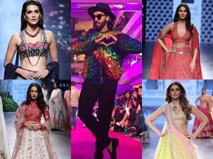 Bollywood Actresses Lakme Fashion Week 2017