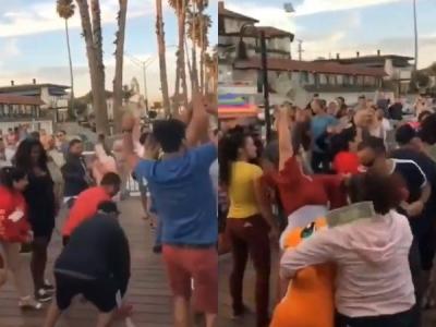 Video: પંજાબીઓએ ડોલર ઉડાવ્યા, વિદેશીઓ પૈસા લૂંટવા લાગ્યા