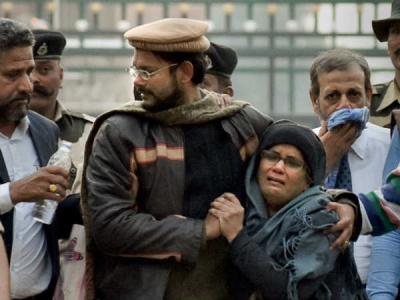 VIDEO: સુષ્માને મળી બોલી હામિદ અનસારીની મા, 'મેરા ભારત મહાન'
