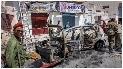 સોમાલિયાઃ રાજધાની મોગદિશુમાં આત્મઘાતી હુમલો, 7ના મોત